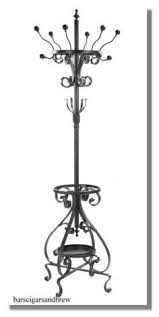 Kipling Metal Coat Rack With Umbrella Stand Cool hooks in the bathroom from a boulangerie in Quebec City 94