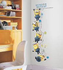 wall art stickers target inspirational roommates rmk2107gc deable me 2 growth chart l and stick