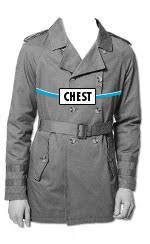 36r Jacket Size Chart Mens Jacket Size Chart Coat Sizes Asos