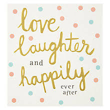 wedding greetings cards john lewis Wedding Gift Card John Lewis buy caroline gardner love and laughter wedding card online at johnlewis com John Lewis Logo