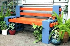 cinder block furniture. Unique Furniture Concrete Block Furniture Ideas  Patio Best Cinder  On