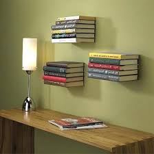 floating bookshelf diy awesome bookshelves with door cool ideas floating bookshelves