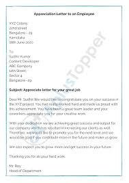 Informal letters are written to close acquaintances of the writer, their friends, family, relatives, etc. Appreciation Letter Format Sample How To Write Appreciation Letter A Plus Topper