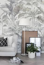 Pride Palms In 2019 Wall Decor Tapete Blumen Schlafzimmer