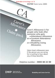 Carers Allowance Form Templates - Fillable & Printable Samples For ...
