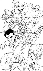 Small Picture Ghostbusters Coloring Pages Miakenasnet