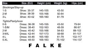 Falke Socks Size Chart Falke Cotton Perfection Tights Special Offer Winter Ranges