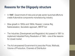 case study of oligopoly on automobile industry  services 6 reasons for the oligopoly