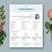 Modern Resume Template Resume Template Resume Tips Resume