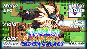 Pokemon Sun sky and Moon Galaxy GBA Rom