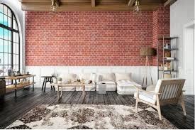using brick walls as a design element