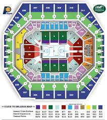 Pacers Seating Chart Section 112 Related Keywords