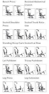 Bowflex Pr3000 Workout Chart Bowflex Workout Health Fitness Bow Legged Correction