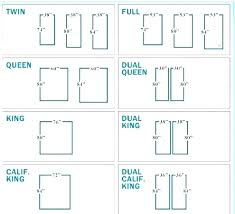 How Wide Is A Full Size Bed Mattress Size Chart Bed