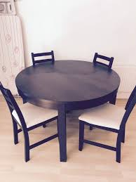 mesmerizing bjursta round table 8 ikea extendable to oval dining used