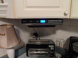 Under Cabinet Tvs Kitchen Guide On Connecting Cable To Under Cabinet Tv Kitchen Radio Tv