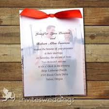 photo red ribbon layered wedding invites iwfc041 wedding Ribbon On Wedding Invitation photo red ribbon layered wedding invites iwfc041 tying a ribbon on a wedding invitation