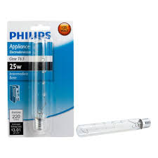 philips 25 watt t6 5 appliance incandescent light bulb