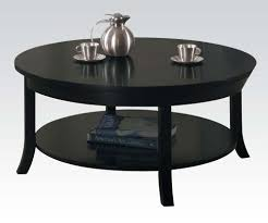 lovable round coffee table black with the versatility of round black coffee table coffe table gallery