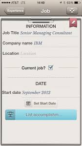 Resume Apps Build And Maintain Your Resume With The Help Of These Five Apps 8
