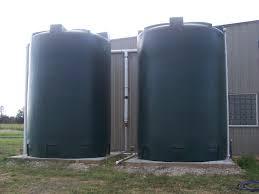 2 5000 gallon rain harvesting tanks 5000 gallon rainwater storage tanks poly