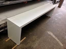white gloss table top