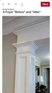 Column Molding Ideas 77 Best Columns And Trim Work Images On Pinterest Interior
