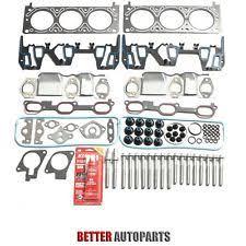 car truck cylinder head valve cover gaskets for chevrolet head gasket bolts set kit for chevrolet oldsmobile pontiac 3 1l 3 4l ohv 12v