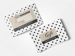 gift card template take a look at the most popular gift certificate templates