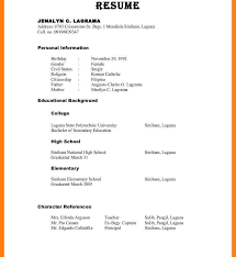 List Of Reference Example Resume References Formatith How Torite On ...