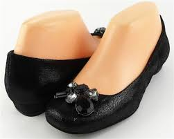 Designer Black Flats 120 Giani Bernini Nuevo Black Leather Designer Comfort