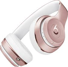 Light Pink Beats By Dre Beats By Dr Dre Beats Solo Wireless Headphones Rose Gold
