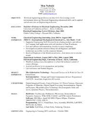 Electrical Engineer Resume Sample Sample Electrical Controls Engineer Resume New Download Entry Level 44