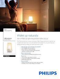 Philips Hf3500 60 Wake Up Light Manual Hf3485 60 Philips Wake Manualzz Com