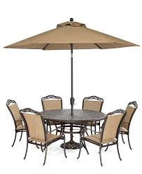 60 Round Dining Table Set Beachmont Outdoor 7 Piece Set 60 Round Dining Table And 6 Dining