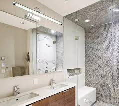Online Cheap 40W40W Led Wall Lamp Sconces Mirror Light Bathroom Simple Bathroom Light Sconces