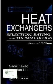 Heat Exchangers Selection Rating And Thermal Design Pdf Sadik Kakac _heat_exchangers_ _
