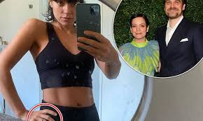 <b>Lily Allen</b> sparks ENGAGEMENT rumours with beau David Harbour ...
