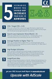 Your Bids 5 Scenarios Where You Should Not Increase Your Bids In Adwords