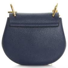chloe drew coin purse. drew navy leather mini saddle bag chloe coin purse