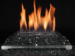 replacing the logs in my gas burning fireplace with fire crystals