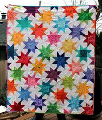 Wonky Star Quilt finished | WOMBAT QUILTS & finished wonky star quilt Adamdwight.com