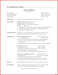 Accounting Resume Examples Awesome Samples Berathen Of Resumes
