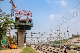 kochi metro update the balanced cantilever bridge being constructed across the south railway station is to be completed by august this year