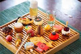 夏祭りイメージのデザートブッフェがセントレジス ホテル 大阪で金魚