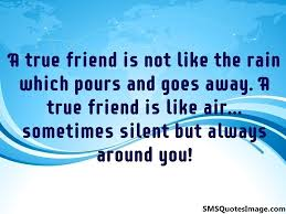 a true friend is not like the friendship sms quotes image a true friend is not like the