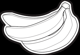 banana clipart black and white. bananas icon pitr black white line art 1979px.png 280(k) banana clipart and