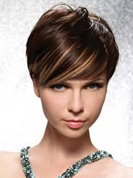 pretty hairstyles for short with highlights and