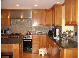 Cherry wood kitchen cabinets with black granite knotty pine cabinet doors painting ideas light. Light Cherry Cabinets What Color Countertops Re What Color Counter With Your Natural Cherry Cabin Cherry Cabinets Kitchen Cherry Kitchen Kitchen Countertops