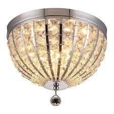 <b>Потолочный</b> светильник <b>Jennifer</b> с плафоном из хрусталя ...
